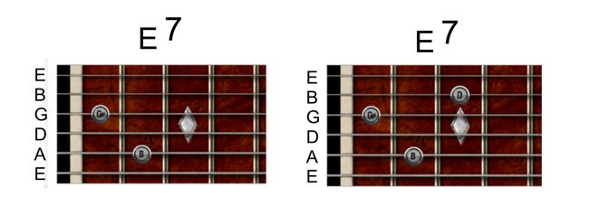How To Play E7 Chord On Guitar Images - guitar chords finger placement